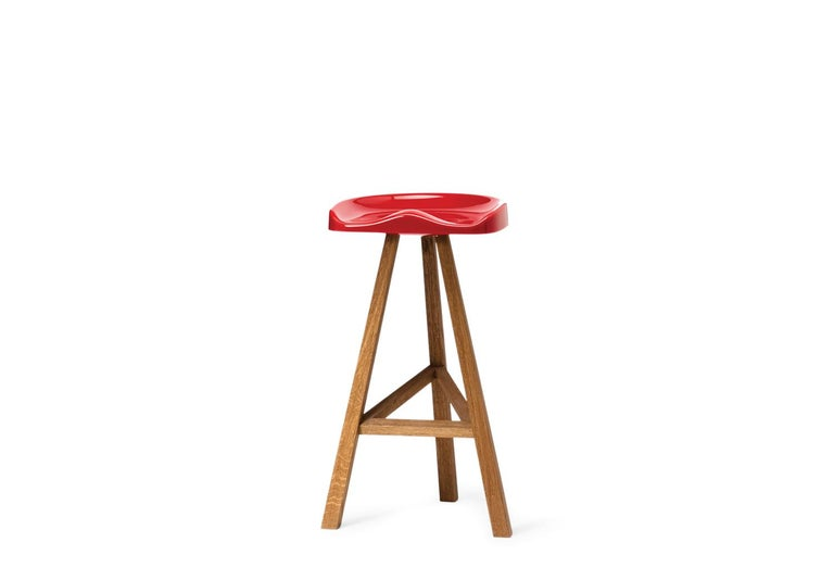 Customizable Established And Sons Tall Heidi Stool By