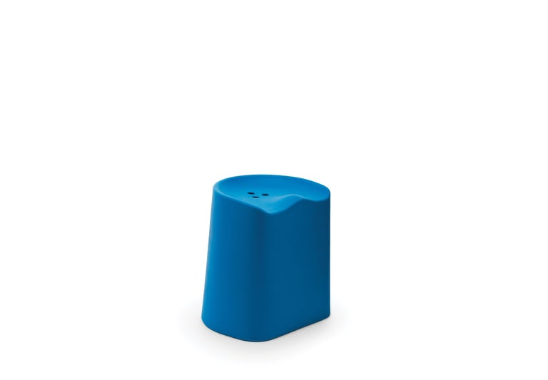 For Sale: Blue (6350) Established & Sons Butt Stool by Estd Collection