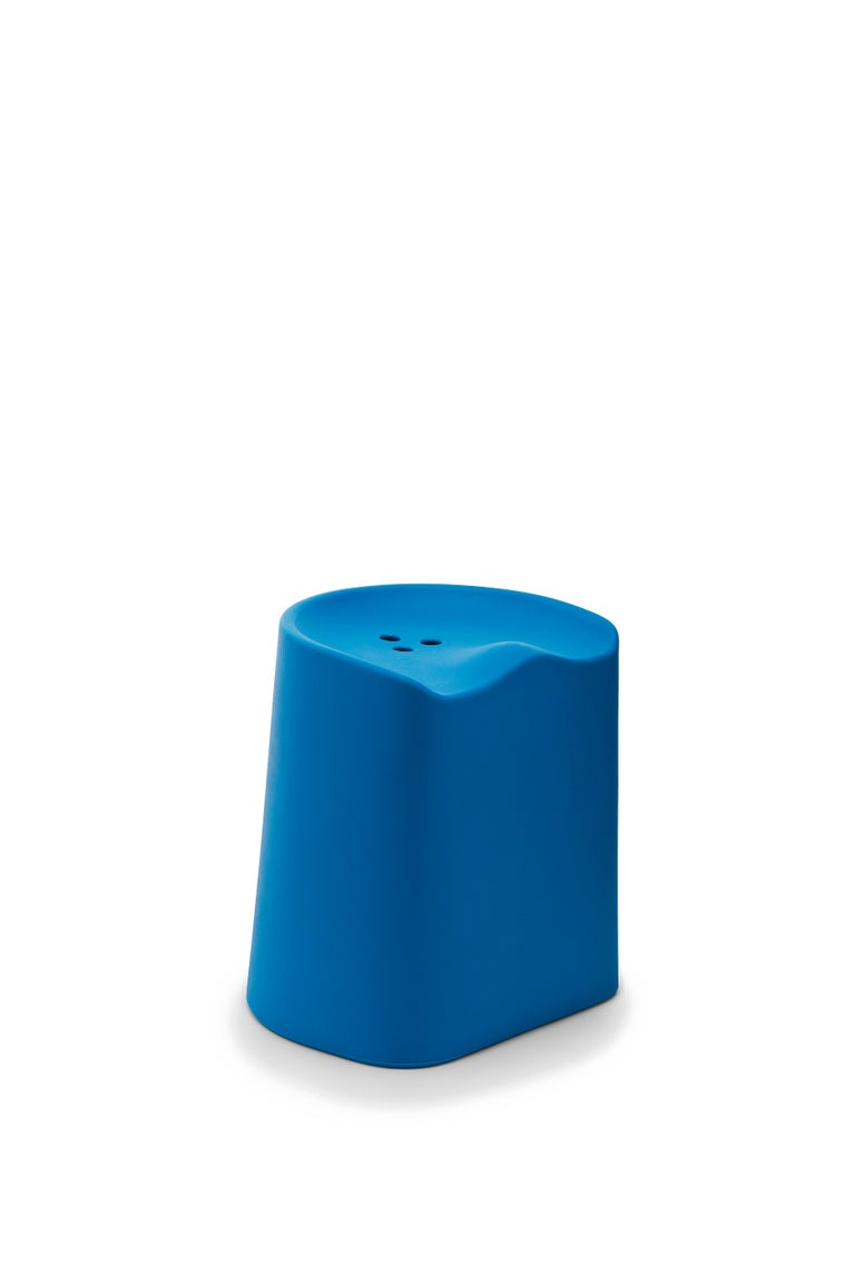 For Sale: Blue (6350) Established & Sons Butt Stool by Estd Collection 2