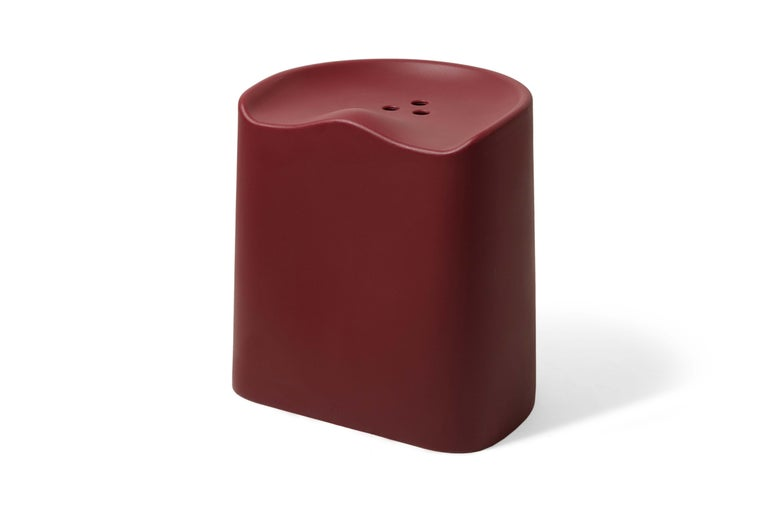 For Sale: Red (6528) Established & Sons Butt Stool by Estd Collection
