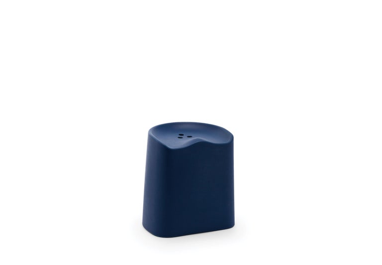 For Sale: Blue (6527) Established & Sons Butt Stool by Estd Collection