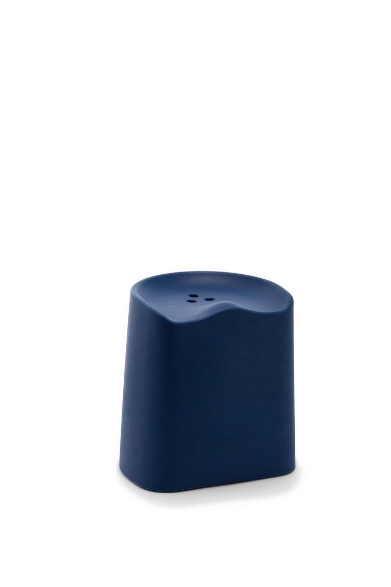 For Sale: Blue (6527) Established & Sons Butt Stool by Estd Collection 2