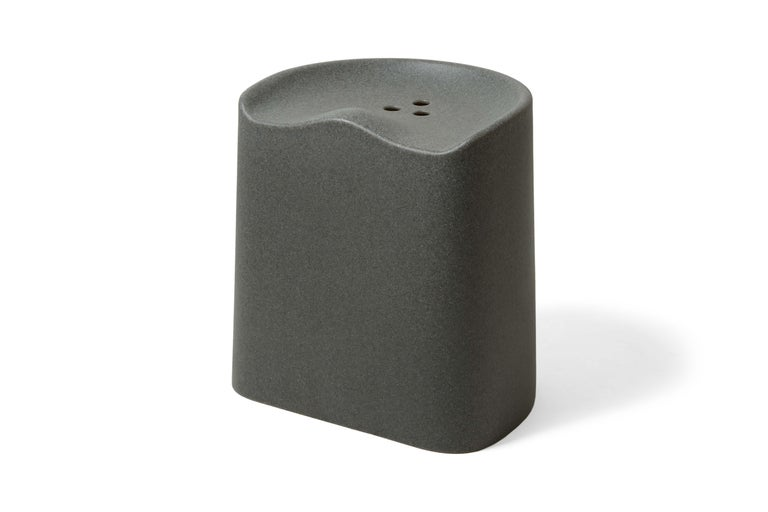For Sale: Gray (6352) Established & Sons Butt Stool by Estd Collection