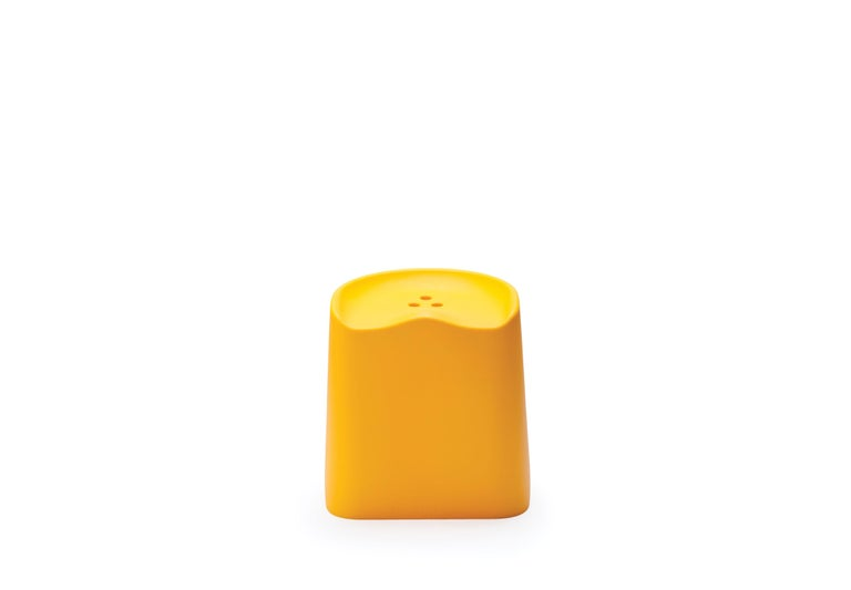 For Sale: Yellow (6353) Established & Sons Butt Stool by Estd Collection