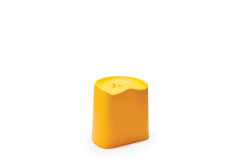 For Sale: Yellow (6353) Established & Sons Butt Stool by Estd Collection 2