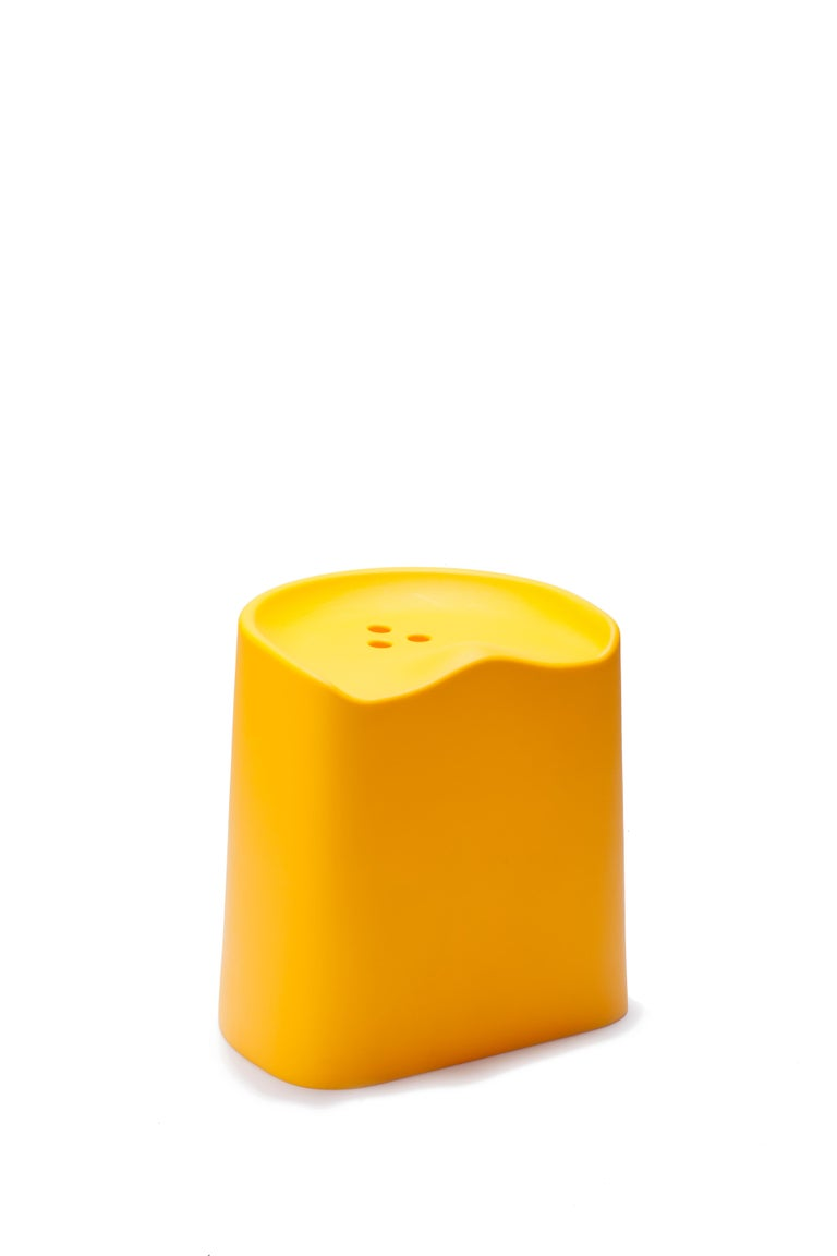 For Sale: Yellow (6353) Established & Sons Butt Stool by Estd Collection 3