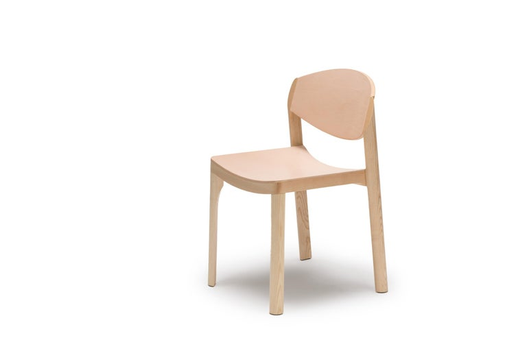 For Sale: Beige (6310) Established & Sons Mauro Chair by Mauro Pasquinelli