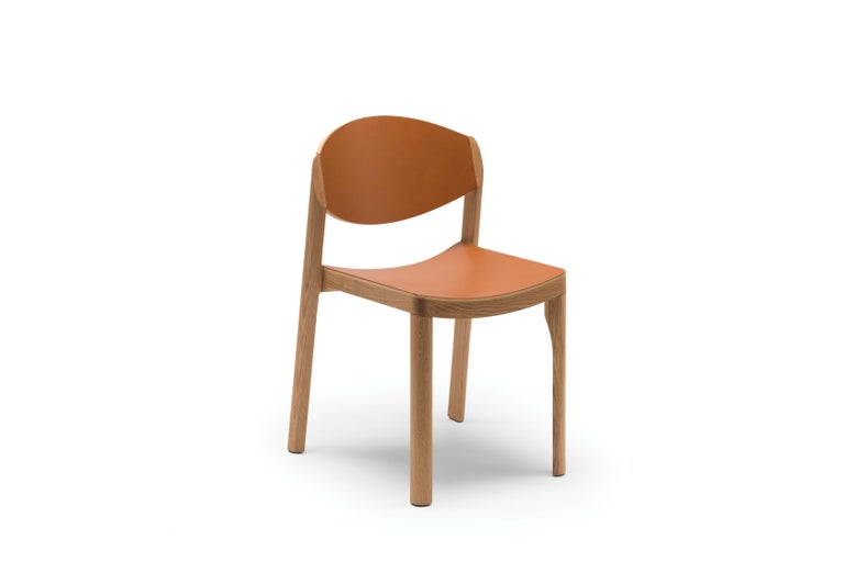 For Sale: Brown (6311) Established & Sons Mauro Chair by Mauro Pasquinelli 2