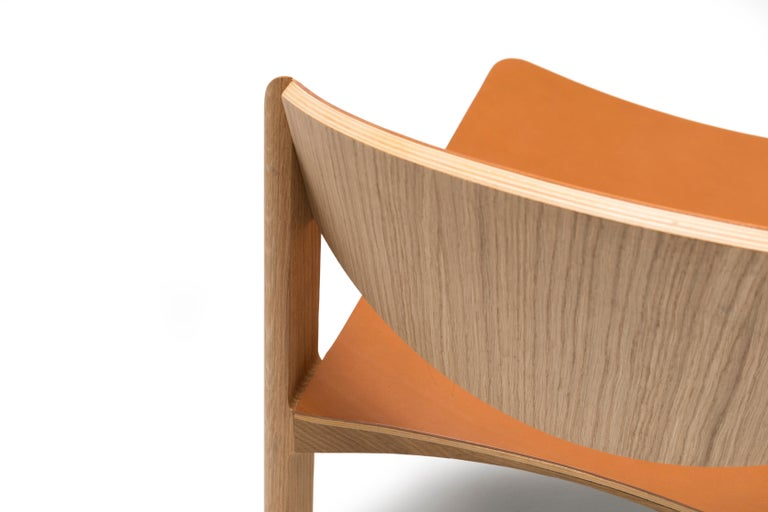 For Sale: Brown (6311) Established & Sons Mauro Chair by Mauro Pasquinelli 5