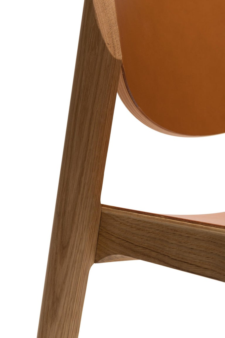 For Sale: Brown (6311) Established & Sons Mauro Chair by Mauro Pasquinelli 6