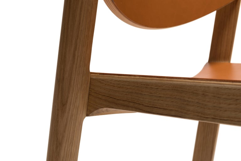 For Sale: Brown (6311) Established & Sons Mauro Chair by Mauro Pasquinelli 7