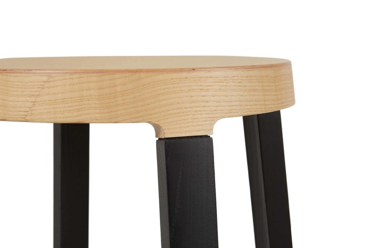 For Sale: Black (5160) Established & Sons Tall Step Stool in Wood by Federico Gregorutti 2