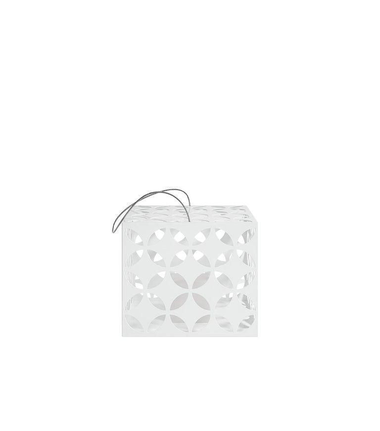 For Sale: White (RAL9016.jpg) Gandia Blasco Touareg Small Candle Box by Sandra Figuerola 2