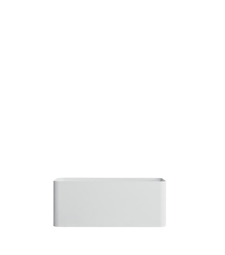 For Sale: White (RAL9016.jpg) Gandia Blasco Sonora Planter 4 by Pablo Gironés 2