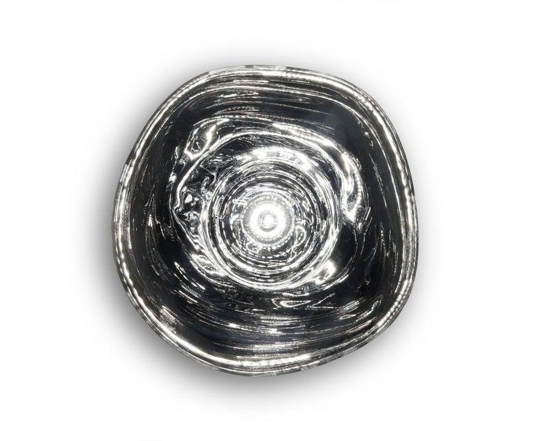 For Sale: Gray (melt chrome.jpg) Melt LED Surface Light by Tom Dixon 4