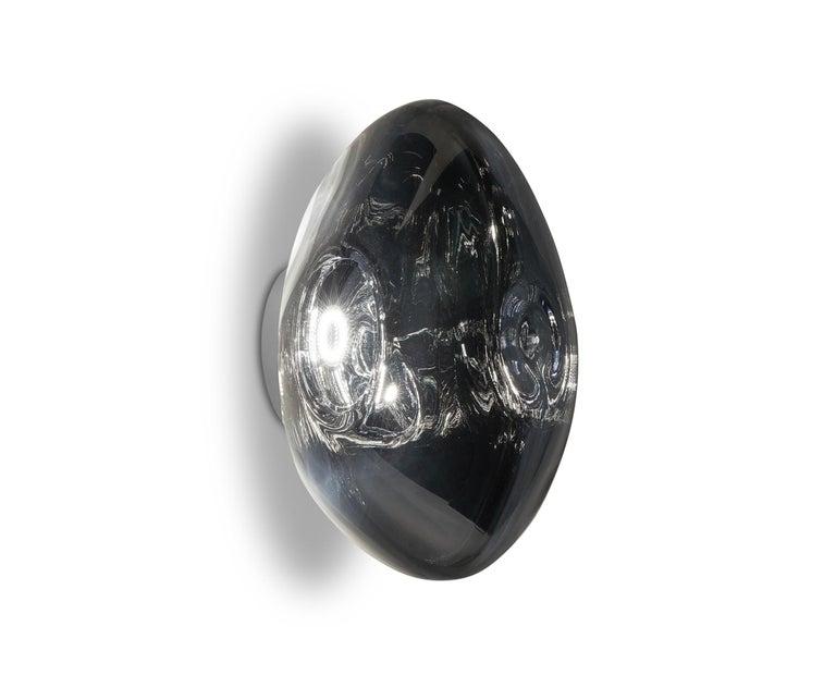 For Sale: Gray (melt chrome.jpg) Melt LED Surface Light by Tom Dixon 5