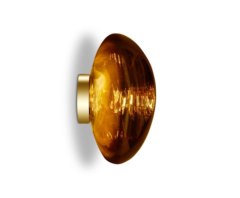 For Sale: Gold (melt gold.jpg) Melt LED Surface Light by Tom Dixon 5