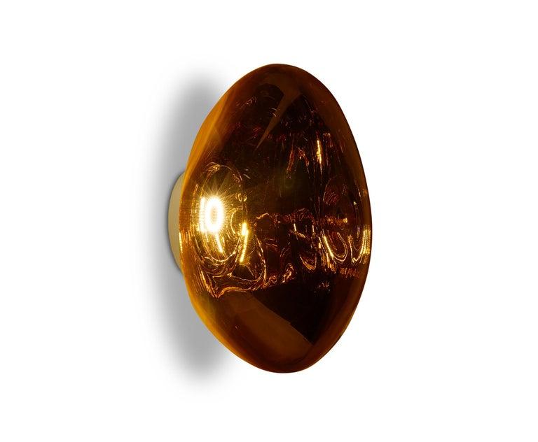 For Sale: Gold (melt gold.jpg) Melt LED Surface Light by Tom Dixon 6
