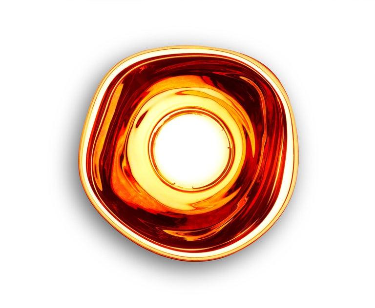 For Sale: Red (melt copper.jpg) Melt LED Surface Light by Tom Dixon