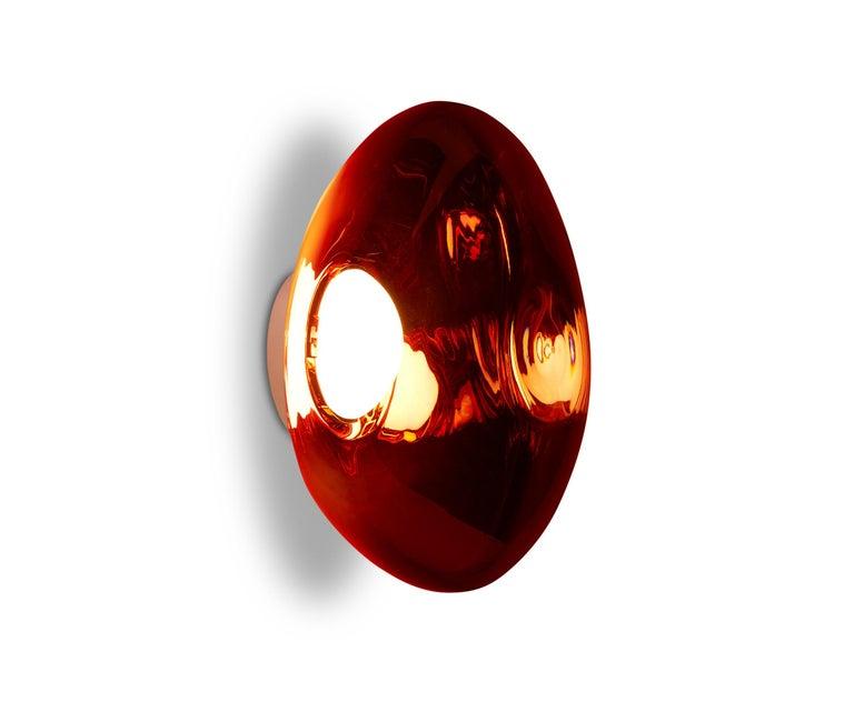 For Sale: Red (melt copper.jpg) Melt LED Surface Light by Tom Dixon 2