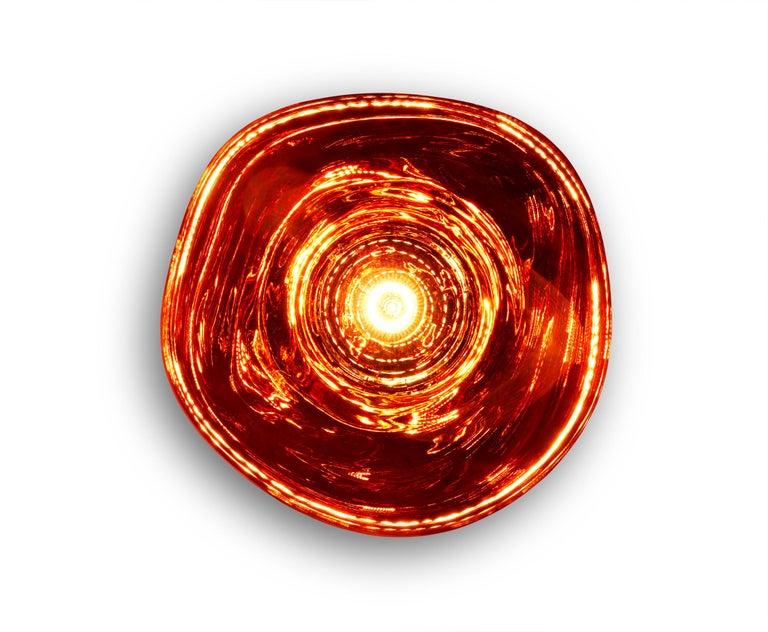 For Sale: Red (melt copper.jpg) Melt LED Surface Light by Tom Dixon 4
