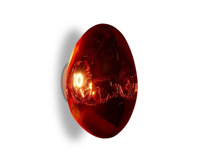 For Sale: Red (melt copper.jpg) Melt LED Surface Light by Tom Dixon 5