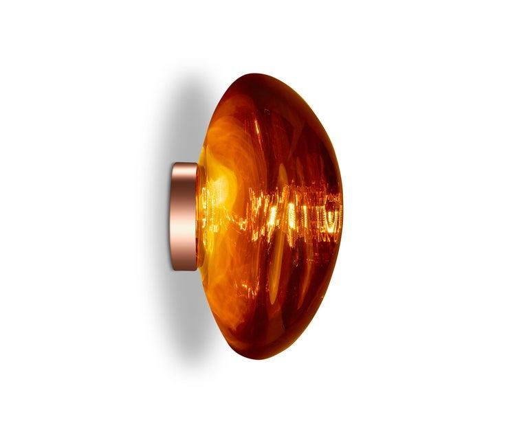 For Sale: Red (melt copper.jpg) Melt LED Surface Light by Tom Dixon 6
