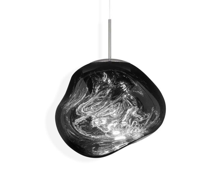 For Sale: Gray (melt chrome.jpg) Melt LED Pendant Light by Tom Dixon 2
