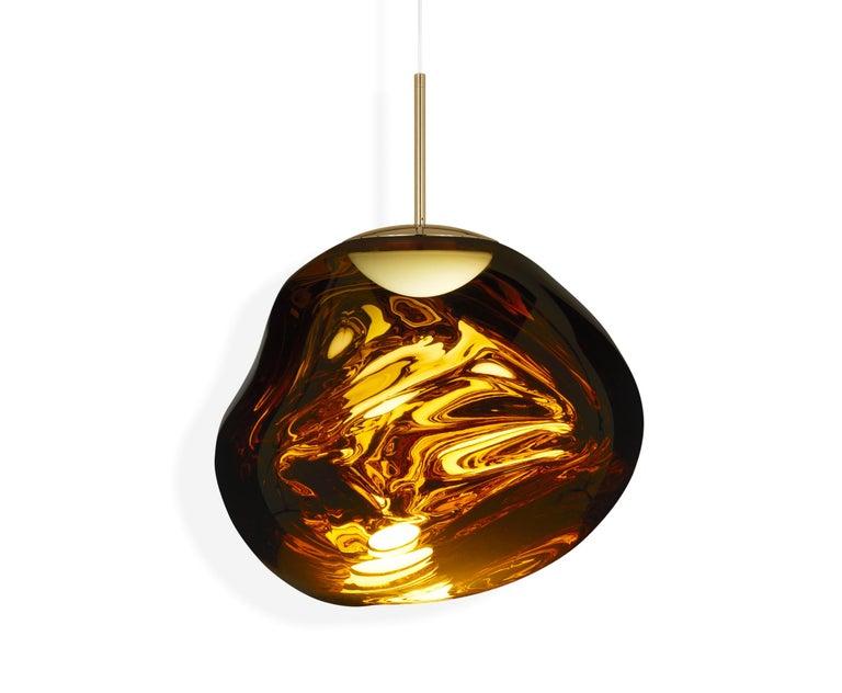 For Sale: Gold (melt gold.jpg) Melt LED Pendant Light by Tom Dixon
