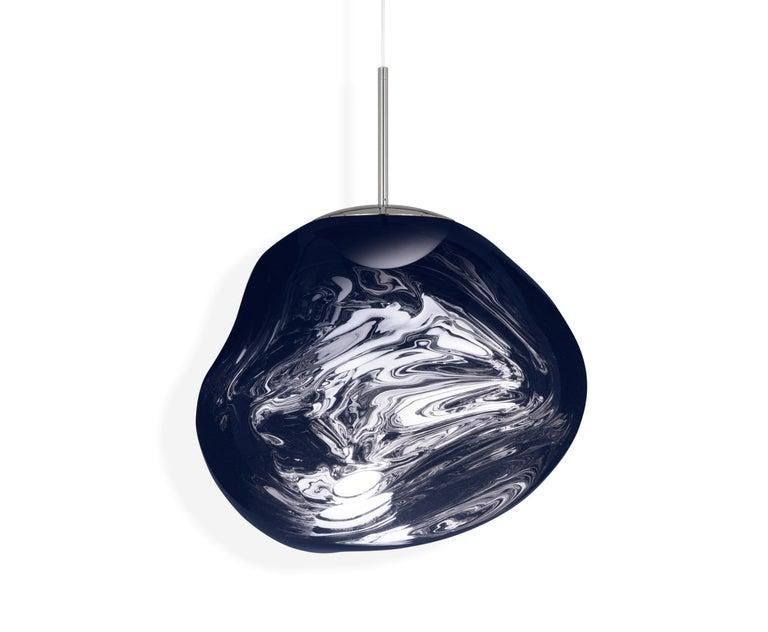 For Sale: Blue (melt smoke.jpg) Melt LED Pendant Light by Tom Dixon