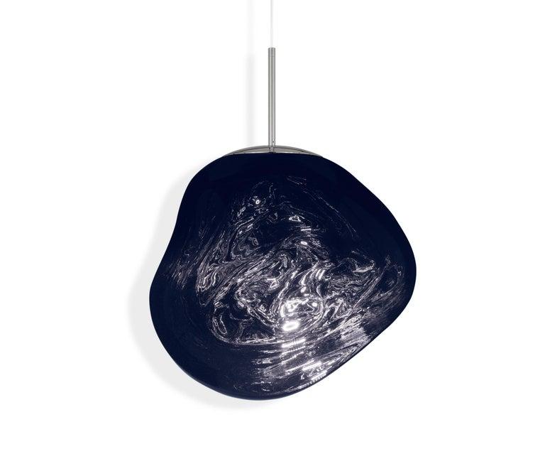 For Sale: Blue (melt smoke.jpg) Melt LED Pendant Light by Tom Dixon 2