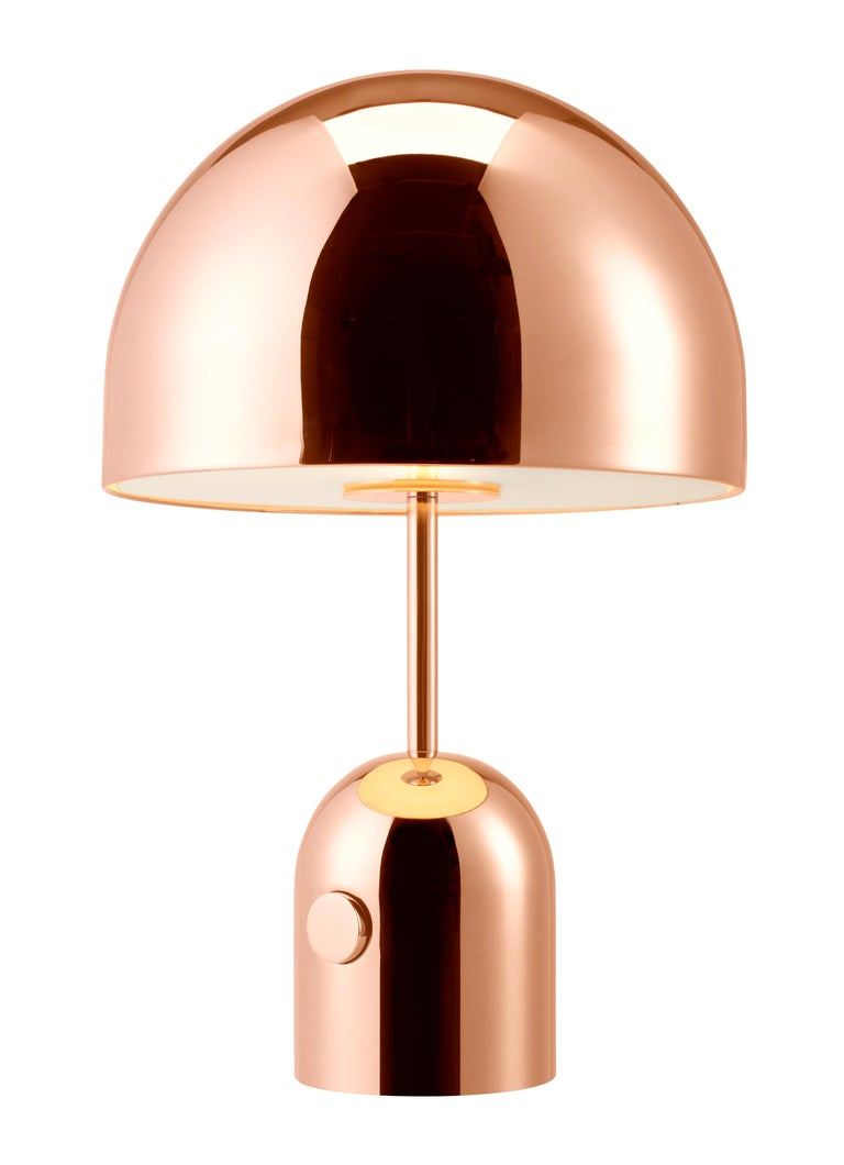 For Sale: Gold (copper.jpg) Bell Table Light by Tom Dixon 2