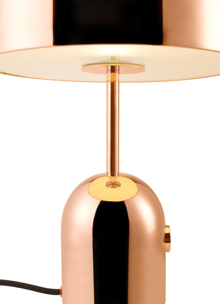 For Sale: Gold (copper.jpg) Bell Table Light by Tom Dixon 3