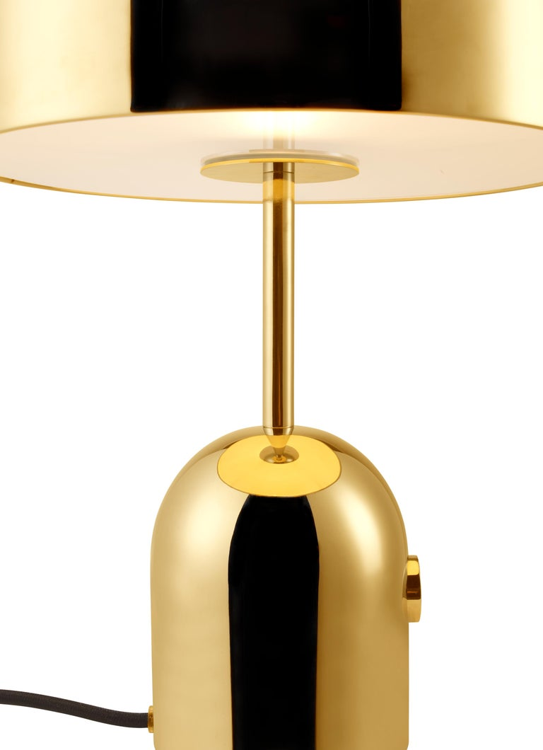 For Sale: Gold (brass.jpg) Bell Table Light by Tom Dixon 2