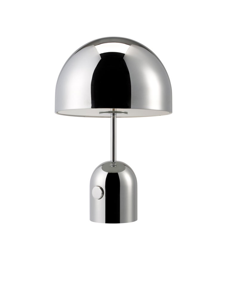 For Sale: Silver (chrome.jpg) Bell Table Light by Tom Dixon