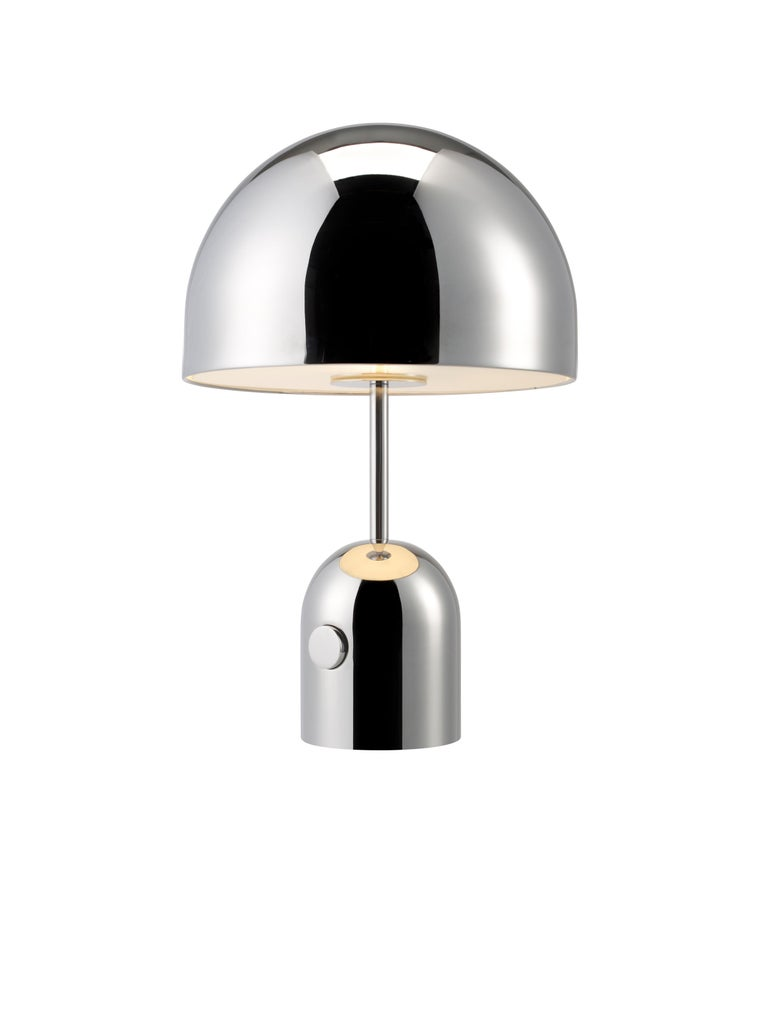 For Sale: Silver (chrome.jpg) Bell Table Light by Tom Dixon 2