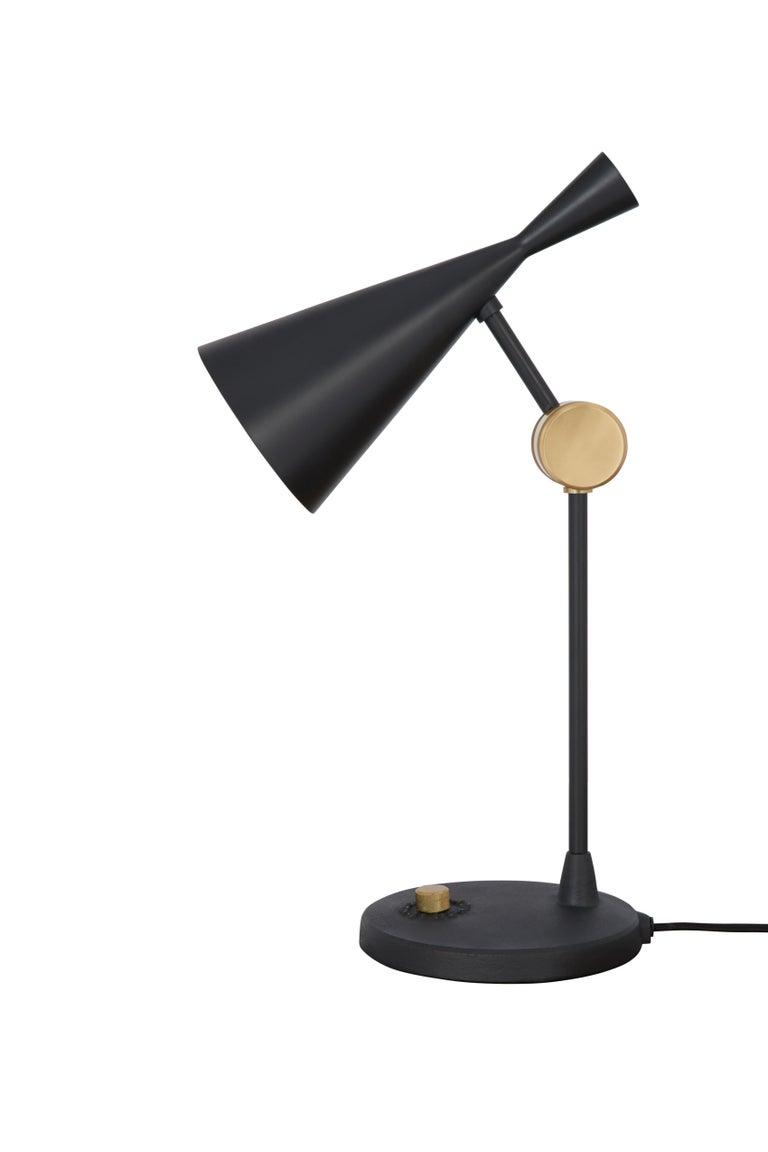 For Sale: Black (black.jpg) Beat Table Light by Tom Dixon 2