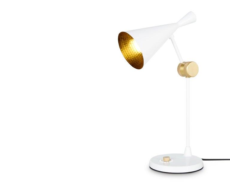 For Sale: White (white.jpg) Beat Table Light by Tom Dixon 3