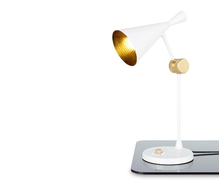 For Sale: White (white.jpg) Beat Table Light by Tom Dixon 4