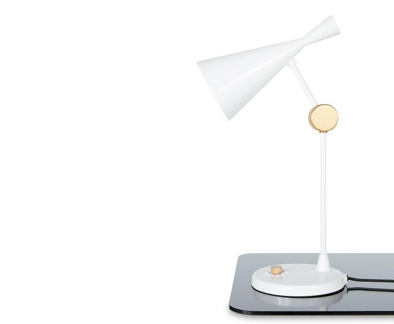 For Sale: White (white.jpg) Beat Table Light by Tom Dixon 6