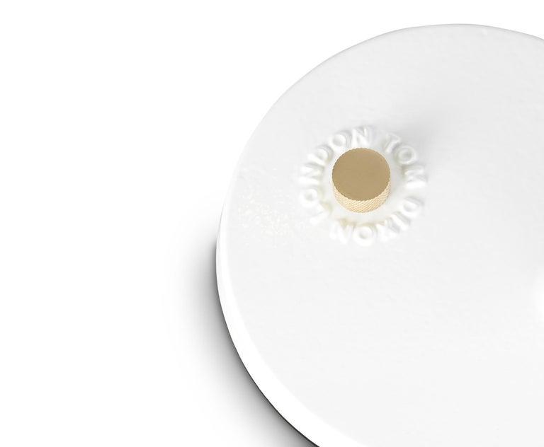 For Sale: White (white.jpg) Beat Table Light by Tom Dixon 7