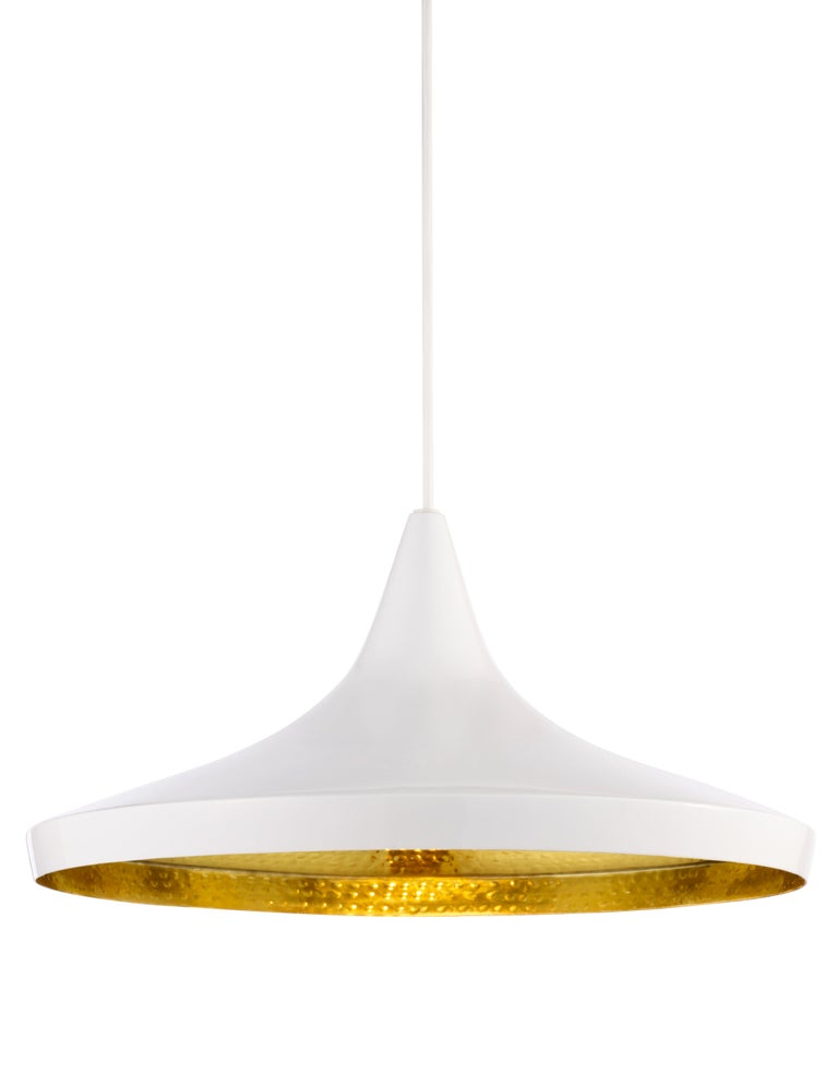 For Sale: White (white.jpg) Beat Wide Pendant Light by Tom Dixon