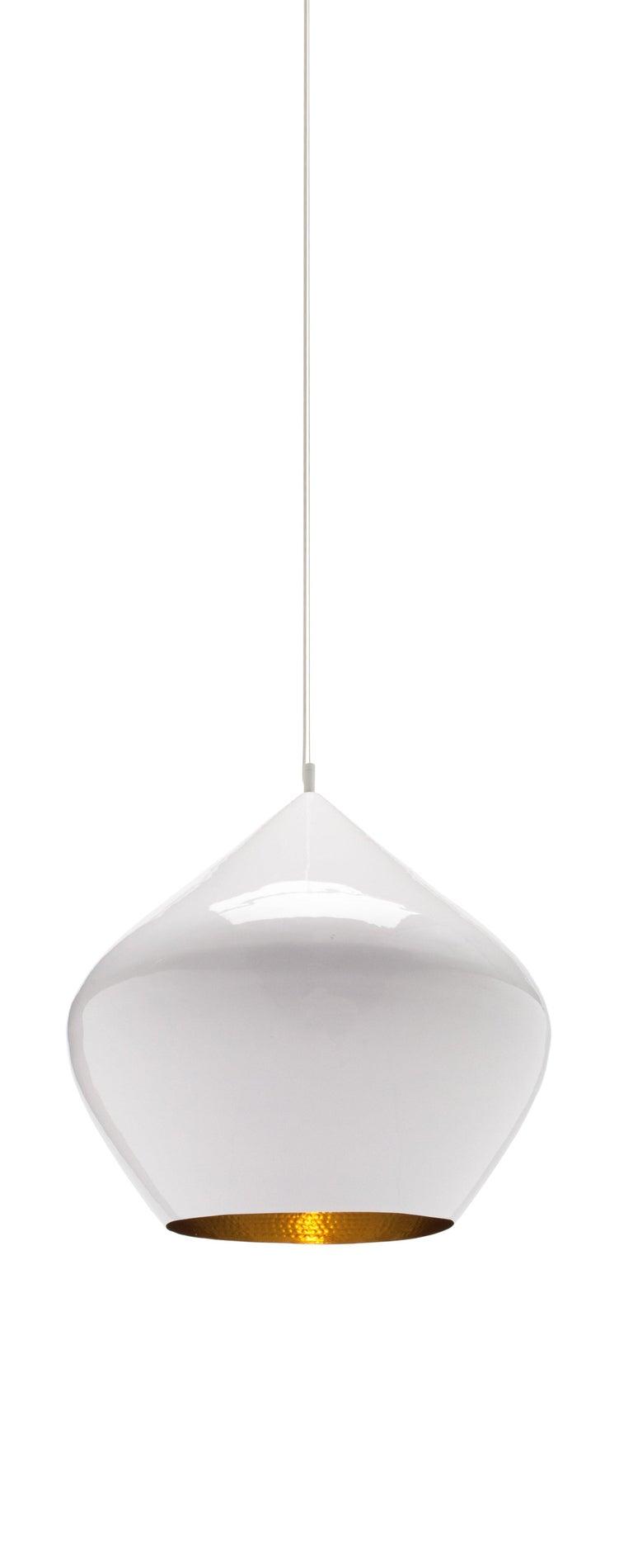For Sale: White (white.jpg) Beat Stout Pendant Light by Tom Dixon