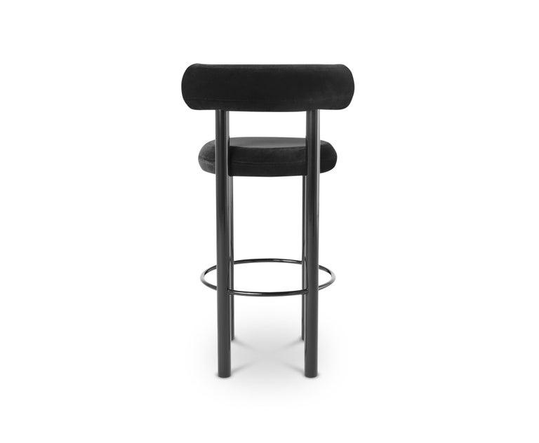 Awe Inspiring Fat Barstool With Black Legs By Tom Dixon Uwap Interior Chair Design Uwaporg