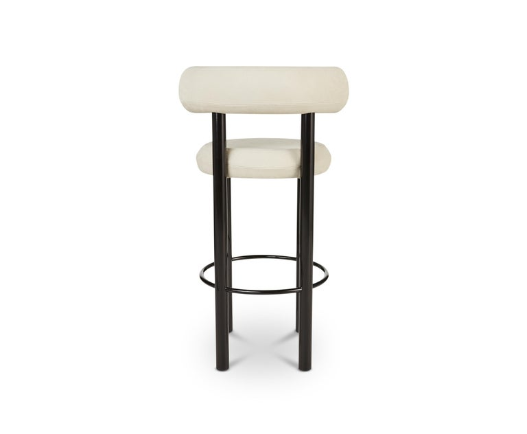 Admirable Fat Barstool With Black Legs By Tom Dixon Gmtry Best Dining Table And Chair Ideas Images Gmtryco