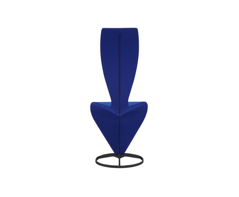 For Sale: Blue (HERO.jpg) S Chair with Cast Iron Base by Tom Dixon 2