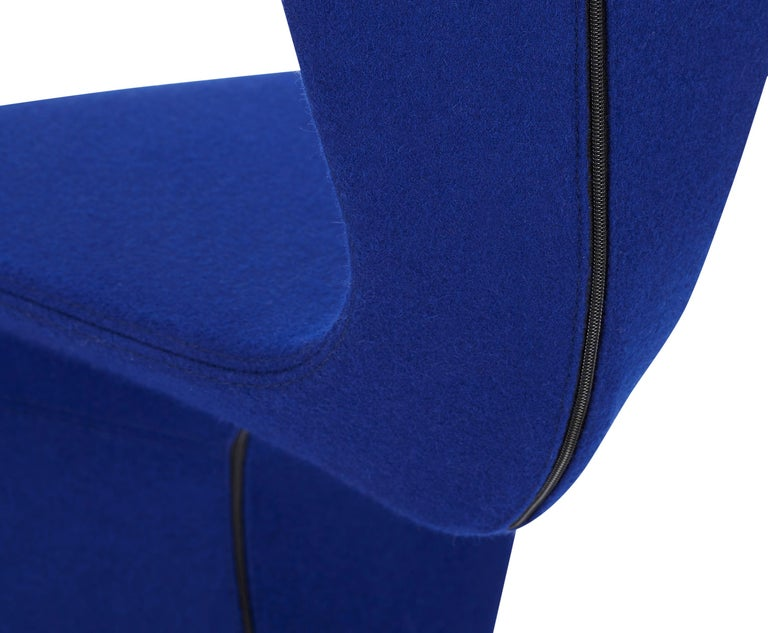 For Sale: Blue (HERO.jpg) S Chair with Cast Iron Base by Tom Dixon 3
