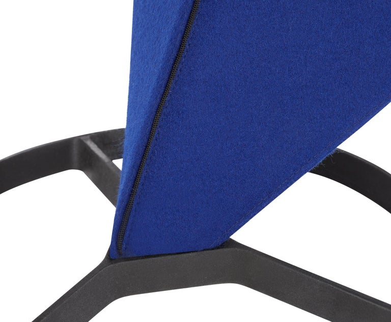 For Sale: Blue (HERO.jpg) S Chair with Cast Iron Base by Tom Dixon 4