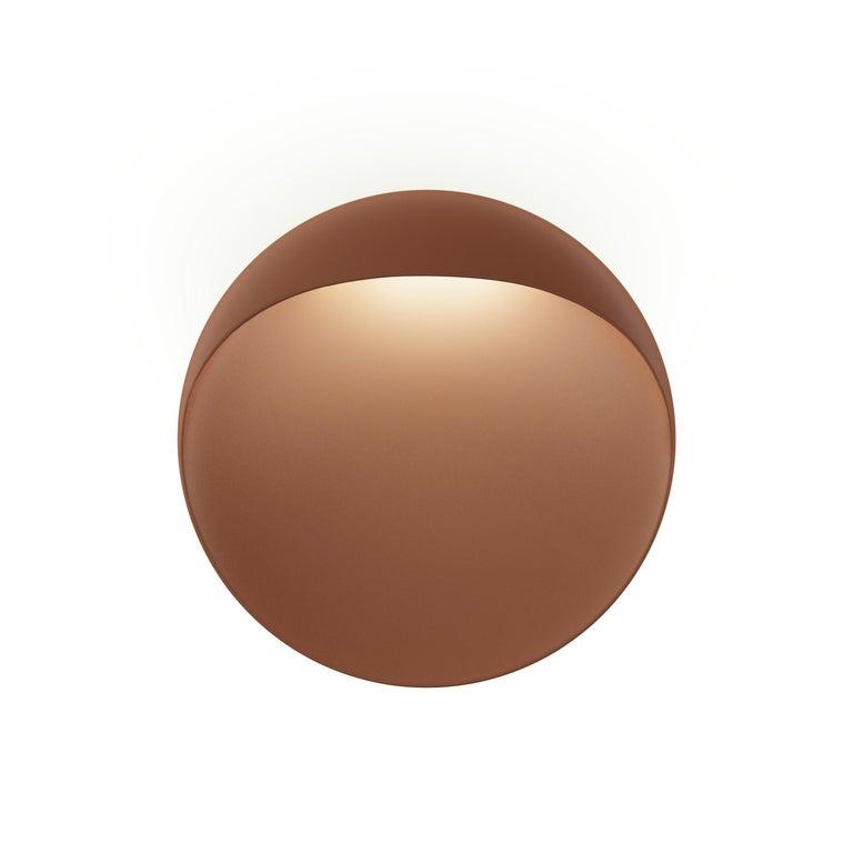 For Sale: Brown (corten.jpg) Louis Poulsen Outdoor Medium Flindt Wall Lamp by Christian Flindt