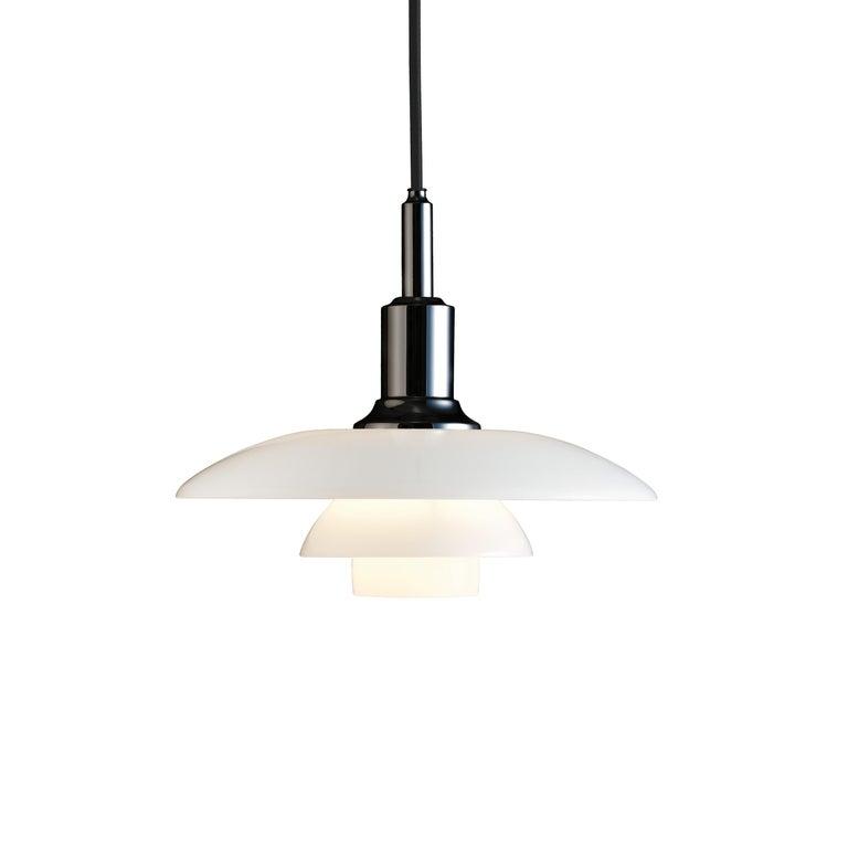 For Sale: Black (black.jpg) Louis Poulsen PH 3/2 Pendant Light by Poul Henningsen